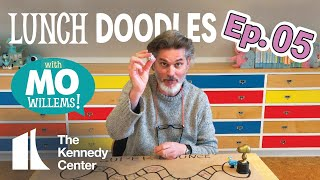 LUNCH DOODLES with Mo Willems! Episode 05