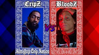 Crip Rappers Vs. Blood Rappers (New School Edition)