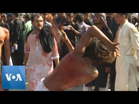 Pakistan Marks Shiite Muslim Holy Day of Ashoura
