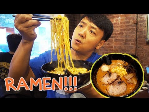 BEST Ramen Noodles in New York! New York City Ramen Noodle Tour Part 2