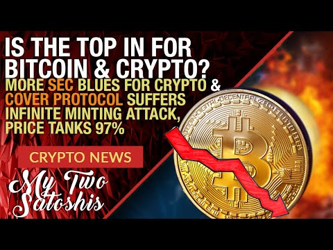 URGENT: IS THE TOP IN FOR BITCOIN (BTC)? WHEN'S A GOOD TIME TO SELL + NEW SEC ATTACK ON CRYPTO CO.