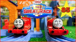 THOMAS AND FRIENDS TOYS - THE GREAT RACE #85 TrackMaster Thomas Kids Playing Toy Trains
