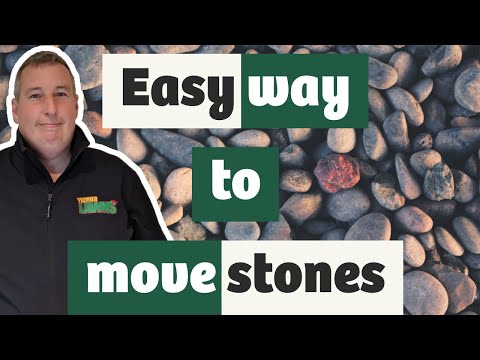 how-to-move-stones-with-mini-dump-truck