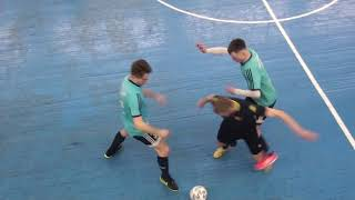 Луч Красный Рак 1 тайм Чемпионат мини футбол 2020 21