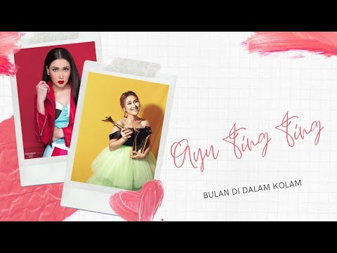 Ayu Ting Ting - Bulan Dalam Kolam (Official Video Review) #Lyrics #music #dangdut