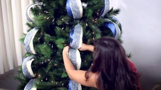 Cómo decorar tu árbol de Navidad en 6 sencillos pasos.