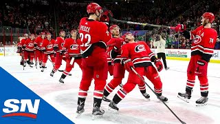 Re-Live Every Carolina Hurricanes Storm Surge!