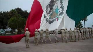 Izamiento de Bandera Monumental