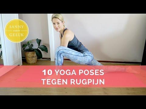 Verminder rugpijn met de 10 yoga houdingen | Selfhelp Sanny