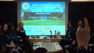 Disrupting the Indian Education System panel