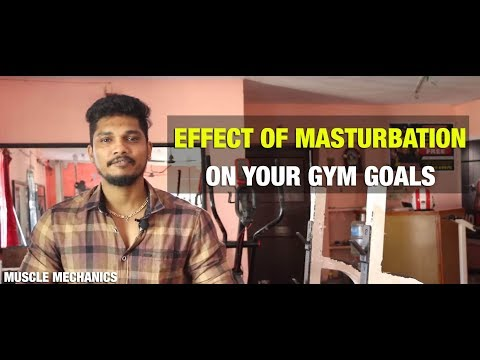 Does MASTURBATION affect your Gym Goals? | DETAILED Explanation in Tamil