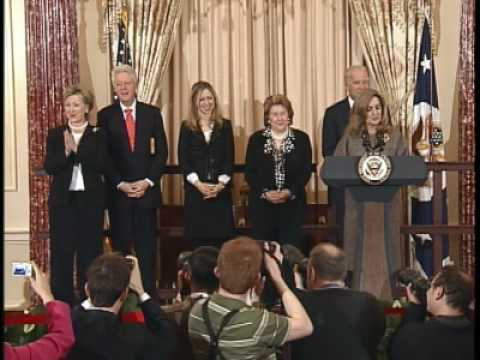 Secretary Clinton Swearing In Ceremony