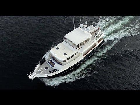 Selene 66' Ocean Trawler for sale in Seattle.  Full Tour