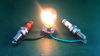 Wow Free Energy Device Electric In Magnets With Spark Plug 100% For New Technology