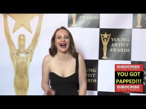 Mandalynn Carlson at the 37th Annual Young Artist Awards Sportsman Lodge in Studio City