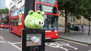 Angry Birds visit London!