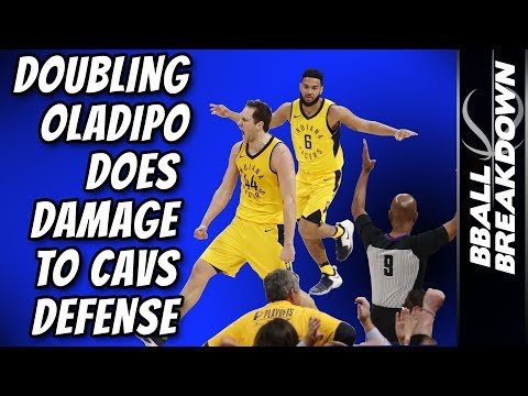 Doubling Oladipo Does DAMAGE To Cavs DEFENSE