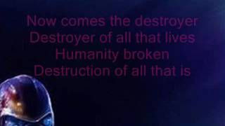 Blaze Bayley - Destroyer (lyrics)