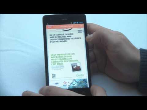 Test et avis phablette Acer Liquid S1 Duo - multimédia