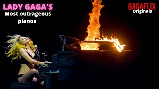 Gagaflix Originals: Lady Gaga's most outrageous pianos
