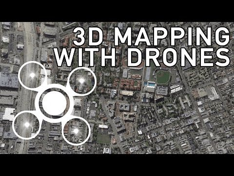 3D Mapping with Drones: Building Terrain Models Quickly and Easily