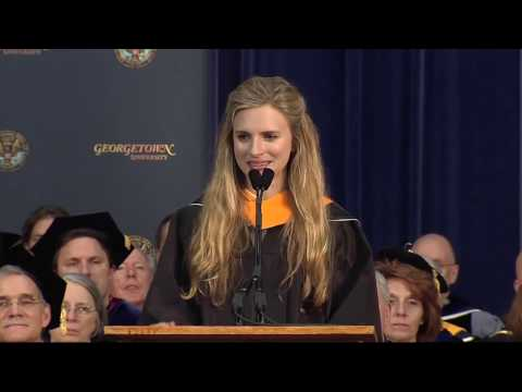 Brit Marling Georgetown University Senior Convocation Speech 2013