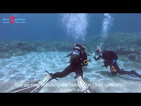 PADI Underwater Navigator Specialty Crete - Dive2gether.com
