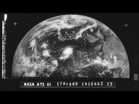 Hurricanes Camille & Debbie (1969) - Satellite Imagery
