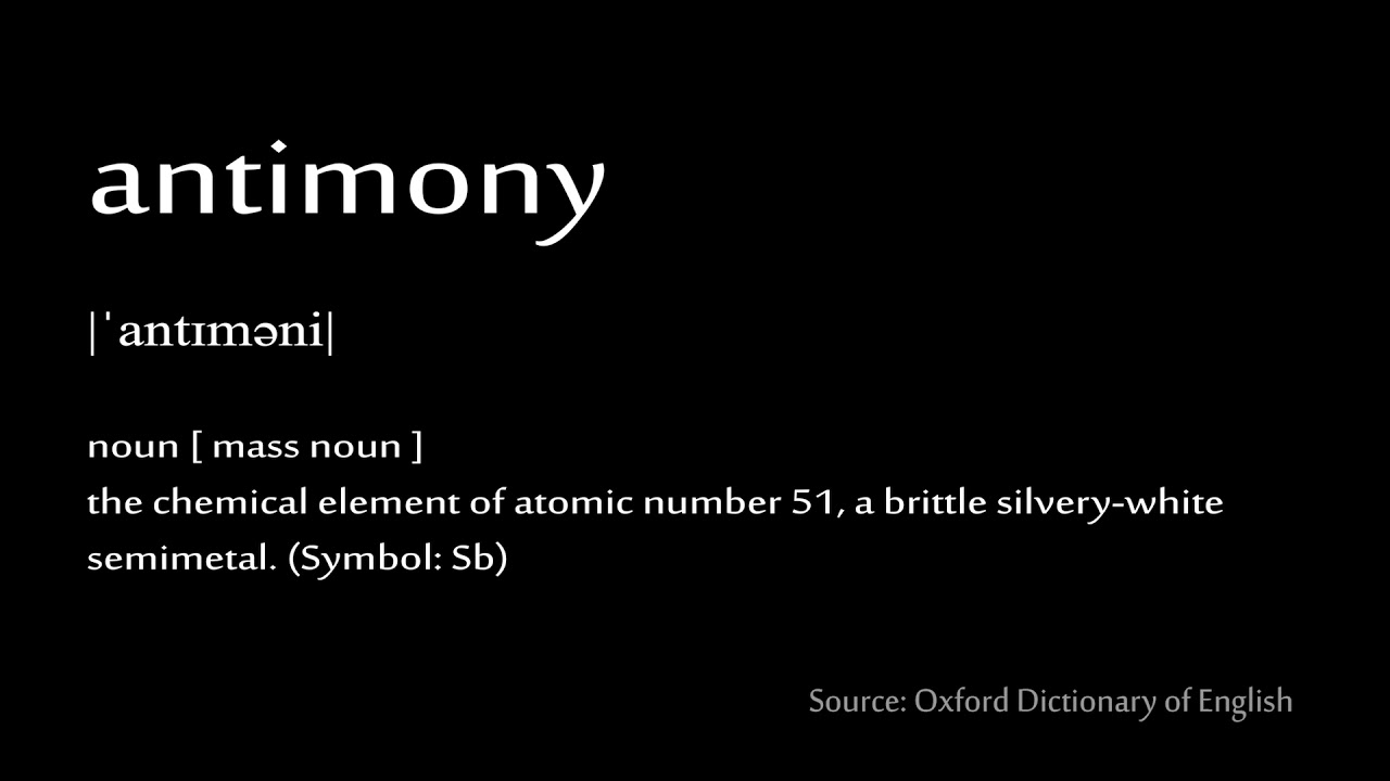 51 antimony how to pronounce chemical elements periodic table 51 antimony how to pronounce chemical elements periodic table biocorpaavc Images