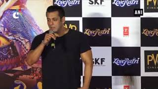 Salman Khan promotes upcoming romantic drama 'Loveratri'