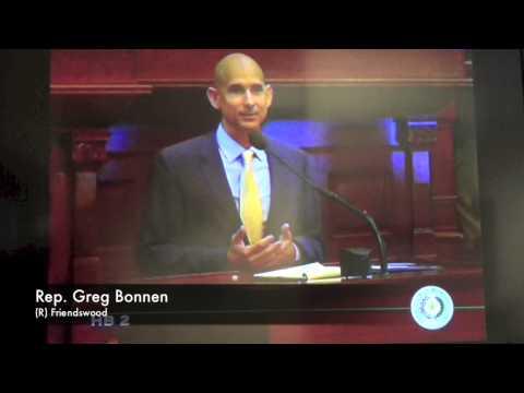 Rep. Bonnen Addresses the Texas House on HB 2