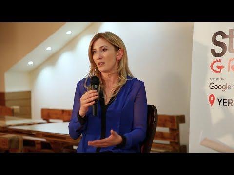 Startup Grind Yerevan Hosts Victoria Aslanian (ArmAs)
