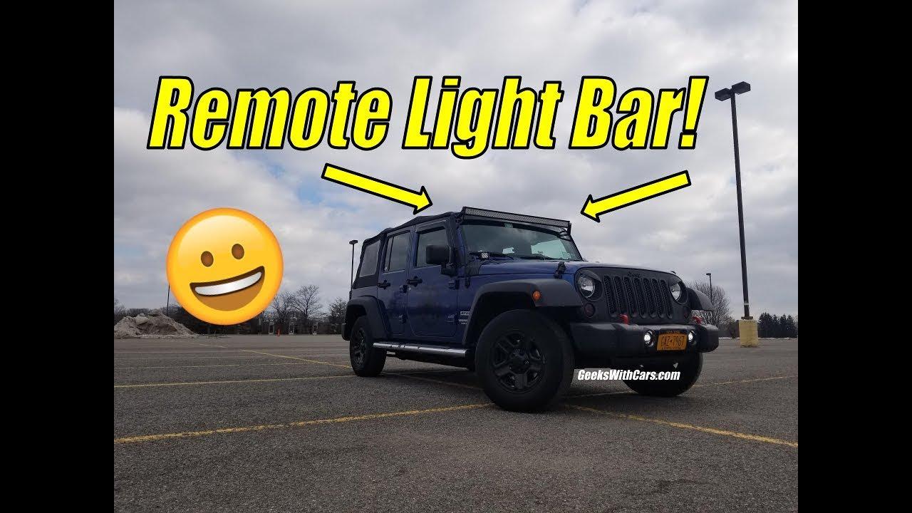 remote control light bar wiring kit install jeep wrangler 50 inch jeep light bar wiring diagram remote control light bar wiring kit install jeep wrangler 50 inch light bar
