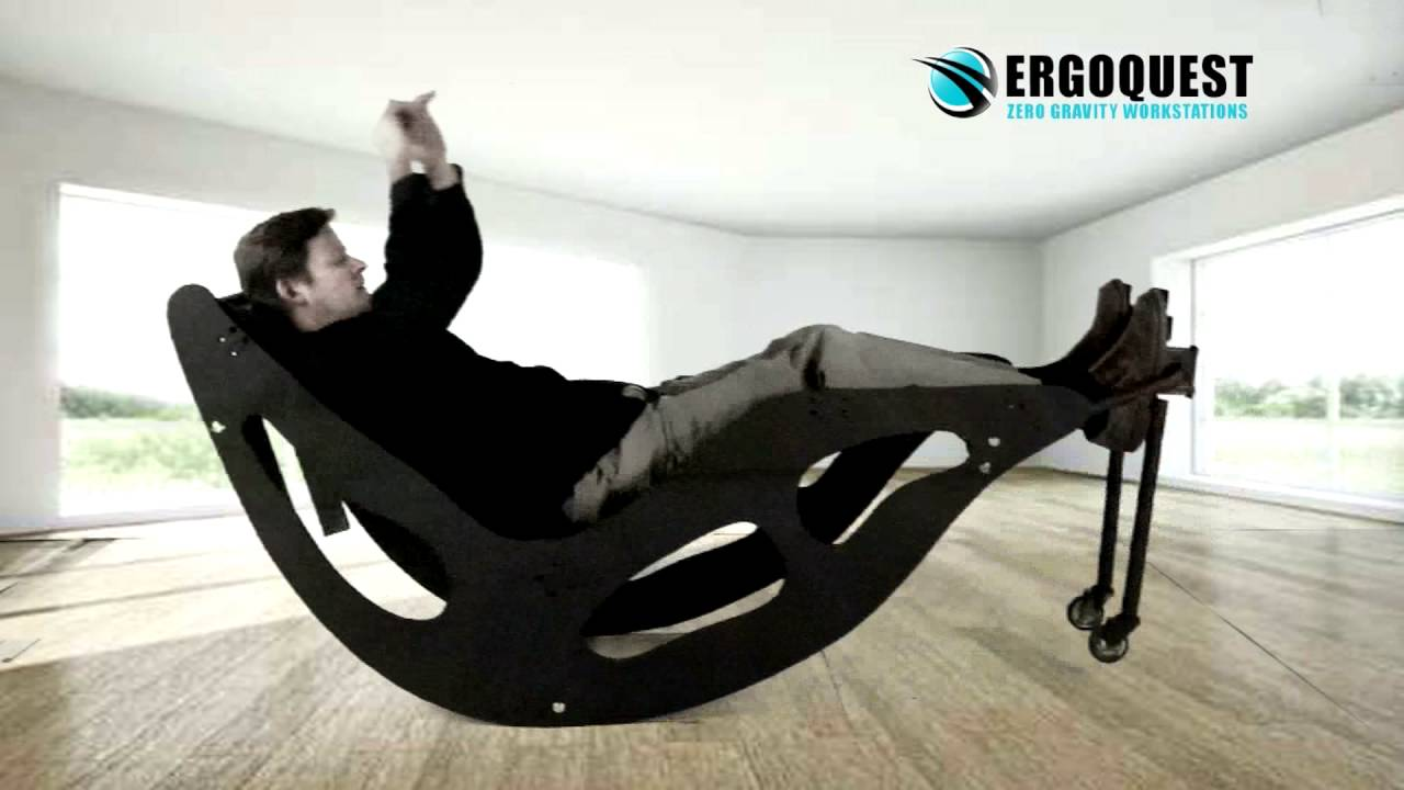 Zero Gravity Rocking Chair with Kinetic Therapy  YouTube
