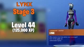 Fortnite Skin Upgrades - Zenith, Lynx (By LEVELS)