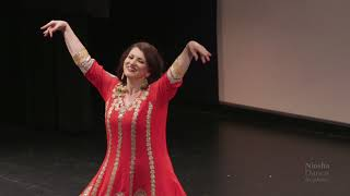 Niosha Nafei Jamali dancing to Shabe Toolani by Ali Molaei, From Niosha Dance Academy, Yalda night.