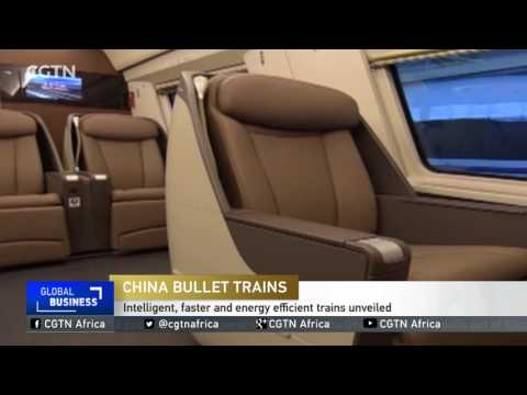 Intelligent, faster and energy efficient trains unveiledin China