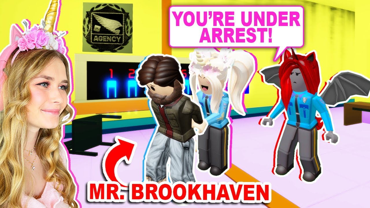 We ARRESTED MR BROOKHAVEN In Brookhaven! (Roblox)