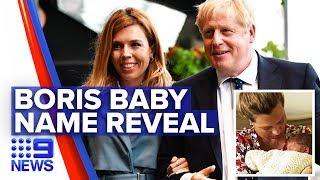 Coronavirus: Boris Johnson names son after doctors who saved his life
