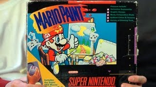 Mario Paint (SNES Video Game) James & Mike