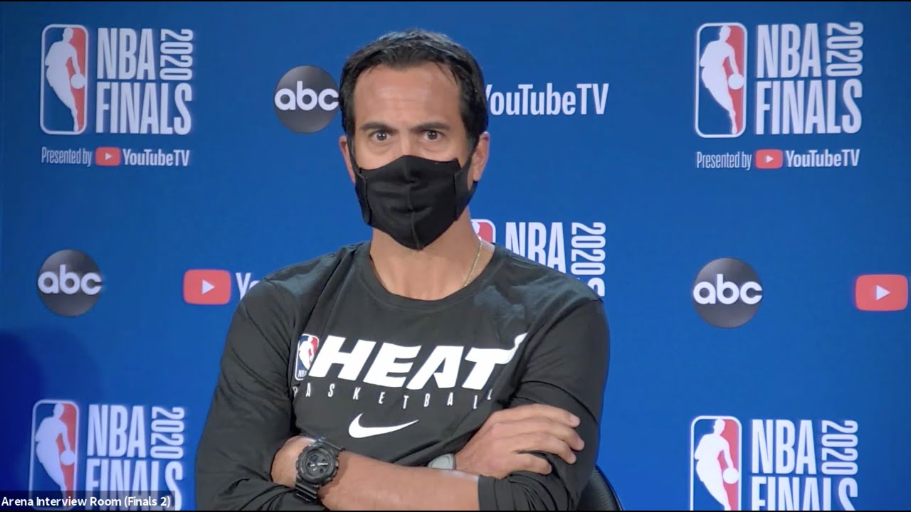 Erik Spoelstra On NBA Finals, Facing LeBron James | NBA Finals Game 1 Interview