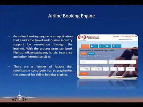 Flight Booking Engine for Travel Agents, Airline Reservation Software - Axis Softech