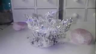 Корона за коса с белгийски кристали - Elizabeth Absolute от AbsoluteRose.com