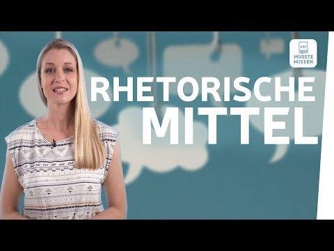 Rhetorische Mittel Erkennen I Musstewissen Deutsch
