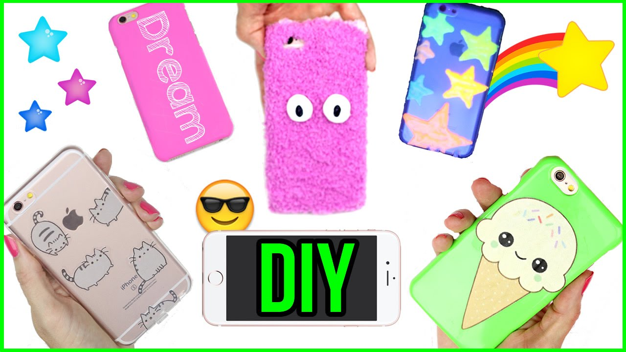 5 diy phone case designs how to make pusheen kawaii for Design a case