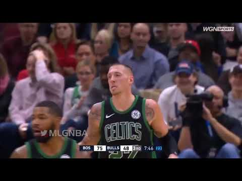 Boston Celtics vs Chicago Bulls Full Game Highlights   12 08 2018, NBA Season
