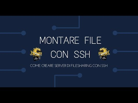 filesharing server out of the box con linux e android [sshfs]