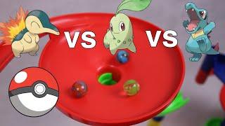 Which Gen 2 Starter Pokemon is Best? Team Marble Race   Pokemon Rush
