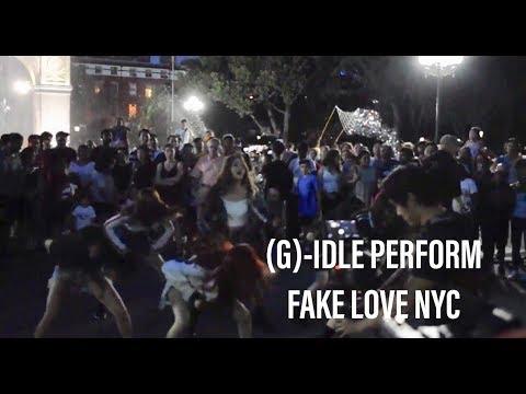 (G) - IDLE FAKE LOVE // KPOP IN PUBLIC Flashmob