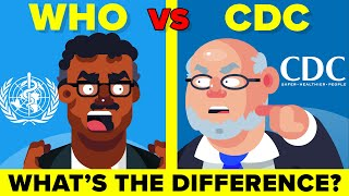 WHO vs CDC - What Do They Actually Do?
